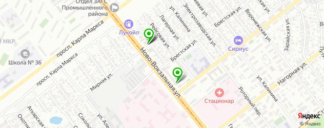 медицинские центры на карте Пролетной улицы