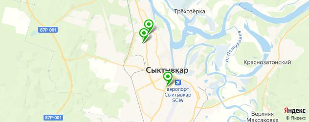 японские рестораны на карте Сыктывкара