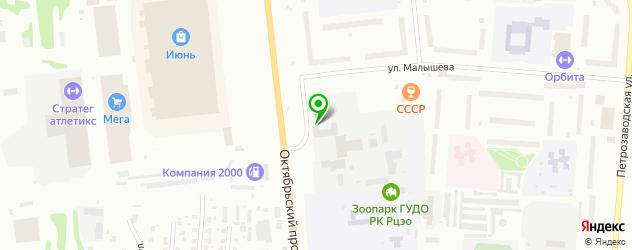 анализы на гепатит на карте улицы Малышева