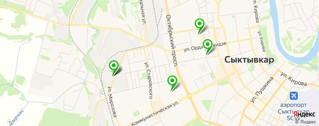 тату салон на карте Сыктывкара