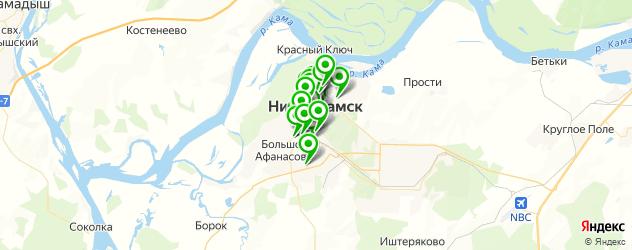 кафе для свадьбы на карте Нижнекамска
