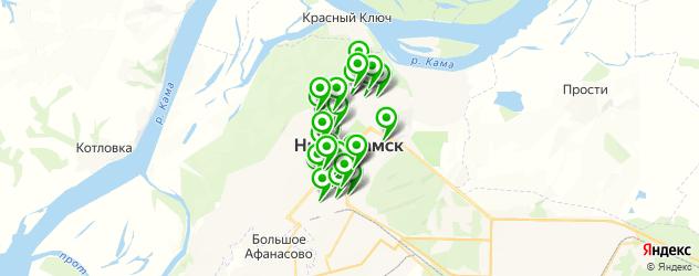 Образование и развитие на карте Нижнекамска