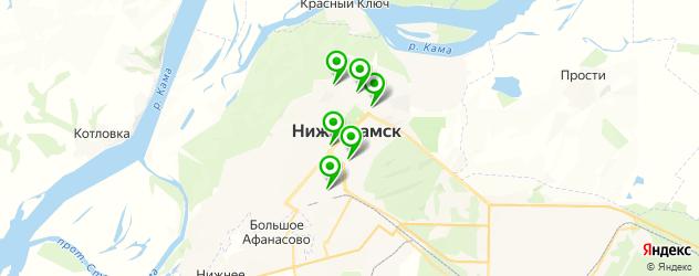 ортопедические магазины на карте Нижнекамска