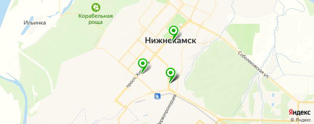 художественные мастерские на карте Нижнекамска