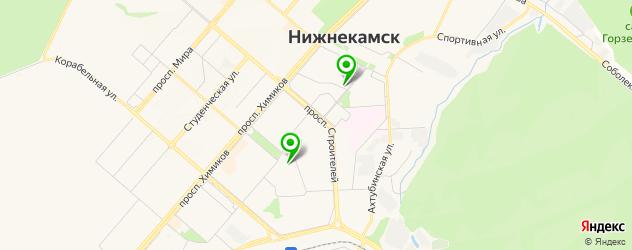 культурные центры на карте Нижнекамска