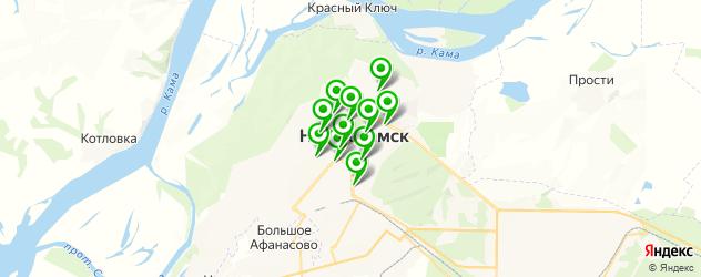детские стоматологические поликлиники на карте Нижнекамска