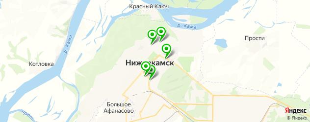 курсы на карте Нижнекамска