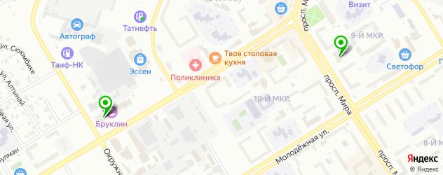 кинотеатры на карте Елабуги