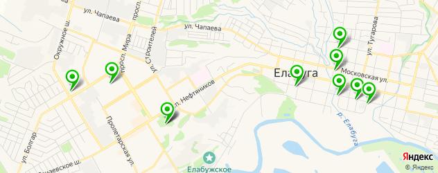 кафе с живой музыкой на карте Елабуги