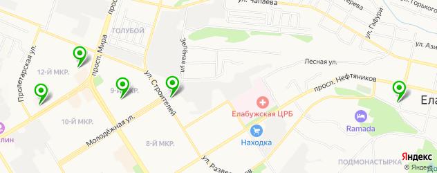 медицинские центры на карте Елабуги
