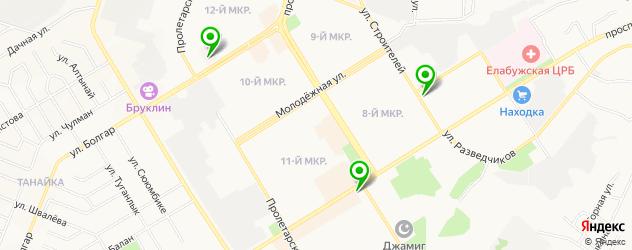 диагностические центры на карте Елабуги