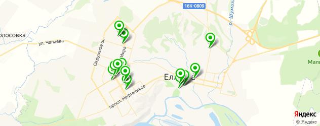 Доставка обедов на карте Елабуги