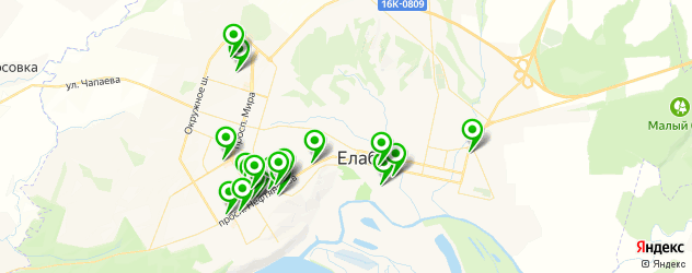 обменные пункты на карте Елабуги