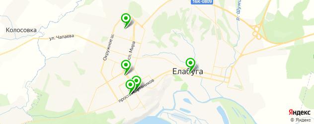 изготовления ключей на карте Елабуги