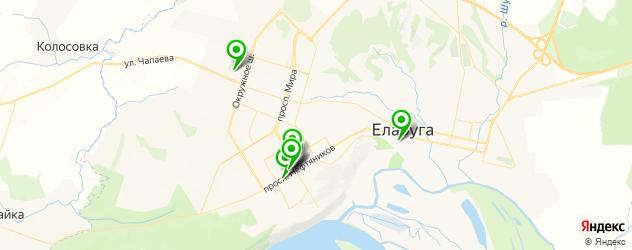 агентства праздников на карте Елабуги