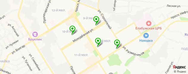 пирсинги салон на карте Елабуги
