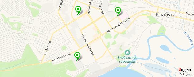 тюнинги-магазины на карте Елабуги