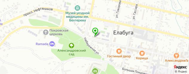 кадровые агентства на карте Елабуги