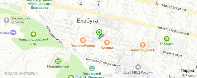 картинные галереи на карте Елабуги