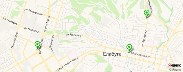 Доставка шашлыка на карте Елабуги