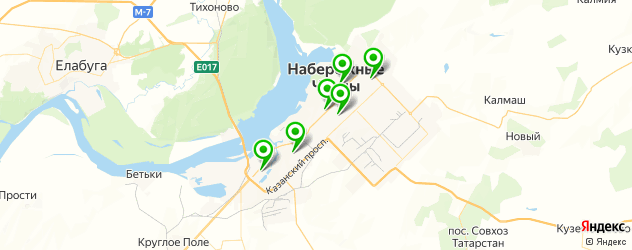 модельные агентства на карте Набережных Челнов
