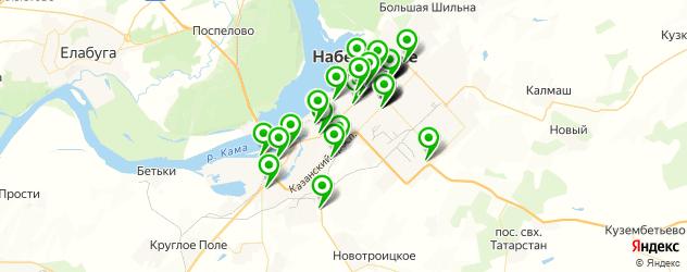 мебельные мастерские на карте Набережных Челнов