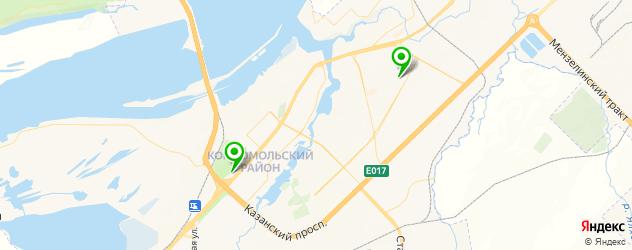 клиники пластической хирургии на карте Набережных Челнов