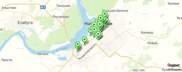центры косметологии на карте Набережных Челнов