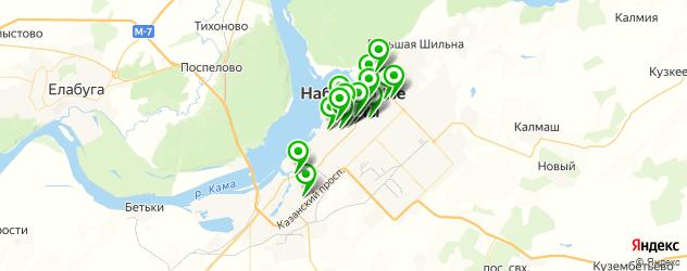 йога-центры на карте Набережных Челнов