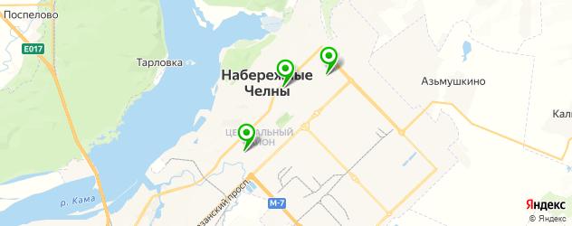 кальянные на карте Набережных Челнов