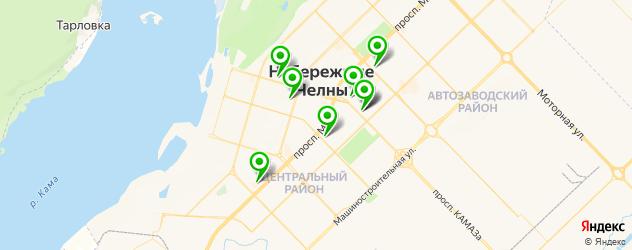 японские рестораны на карте Набережных Челнов