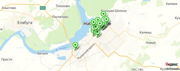 постные меню в ресторанах на карте Набережных Челнов