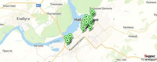 терминалы оплаты на карте Набережных Челнов
