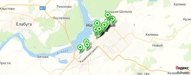 пиццерии на карте Набережных Челнов