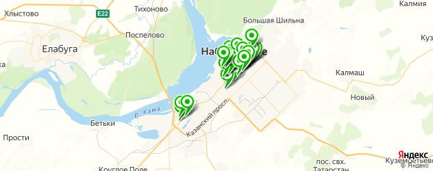 бары на карте Набережных Челнов