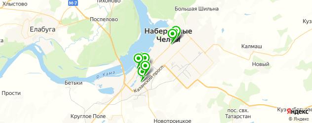 тату салон на карте Набережных Челнов