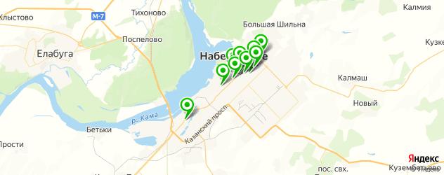 свадебные агентства на карте Набережных Челнов