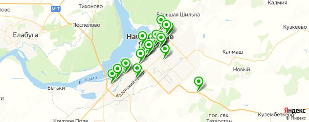 фасты фуд на карте Набережных Челнов
