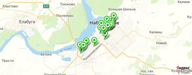 обменные пункты на карте Набережных Челнов