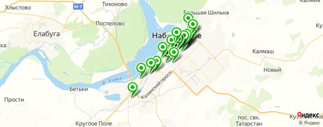 меховые ателье на карте Набережных Челнов
