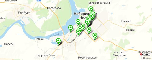 тюнинги ателье на карте Набережных Челнов