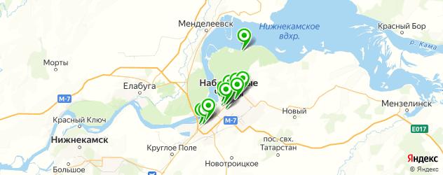 фотостудии на карте Набережных Челнов