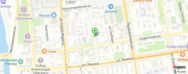 постижерные мастерские на карте Ижевска
