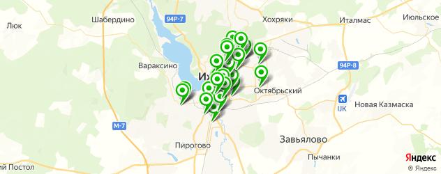 дома быта на карте Ижевска