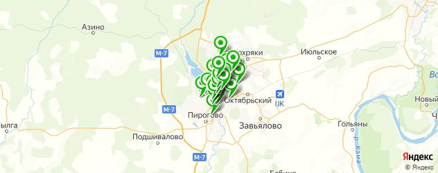 Бытовые услуги на карте Ижевска
