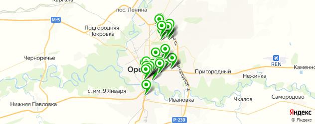постные меню в ресторанах на карте Оренбурга