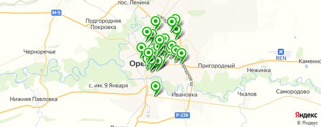 агентства праздников на карте Оренбурга