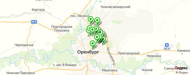 запчасти для ГБО на карте Оренбурга