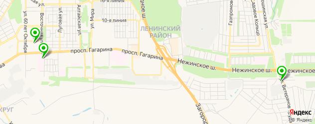 поликлиники на карте Оренбурга