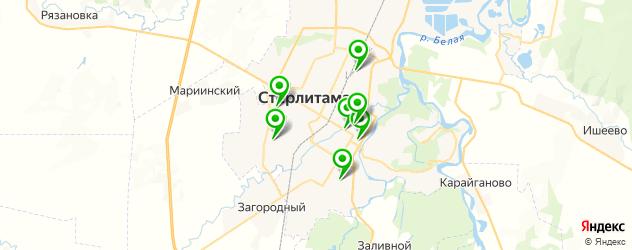 лаборатории анализов на карте Стерлитамака